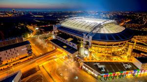 Aréna Ajaxu Amsterdam má vlastné úložisko energie s kapacitou ako 148 Nissanov Leaf