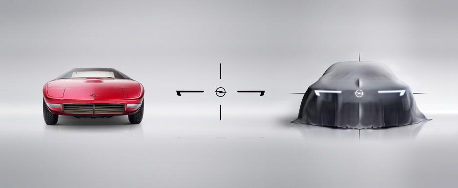 Opel CD a Opel Concept 2018 R
