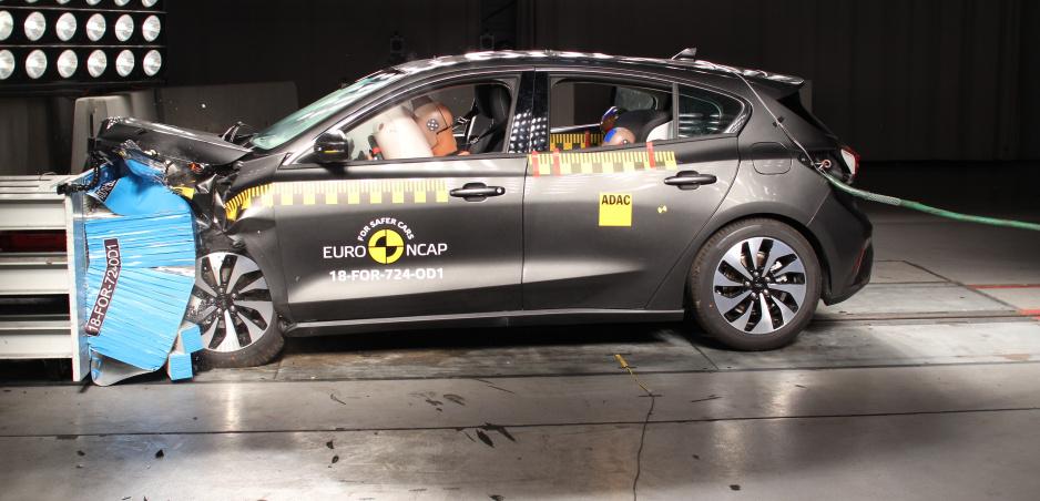 Nový Ford Focus a Volvo XC40 prešli nárazovými testami