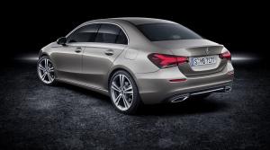 Nový sedan Mercedes triedy A má väčší kufor ako hatchback