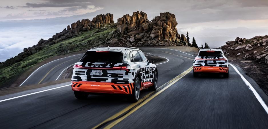 Audi E-Tron má posunúť rekuperáciu na novú úroveň