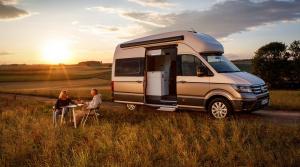 Nový Volkswagen Grand California - kempujte v pohodlí