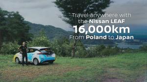 Poľský dobrodruh prešiel na elektrickom Nissane Leaf 16 000 km z Poľska do Tokia