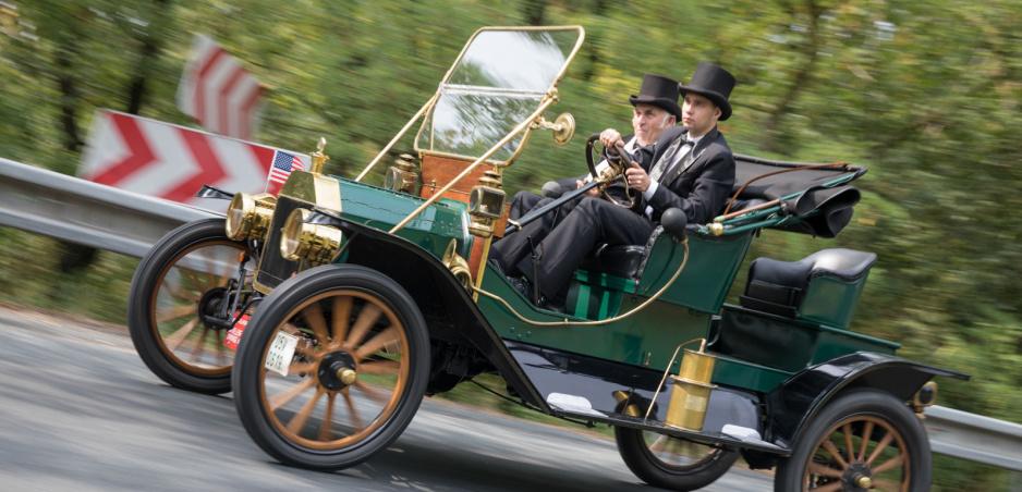Pálavský Oldtimer 2018: Cenu Concourse d'Elegance získal Ford T z roku 1911