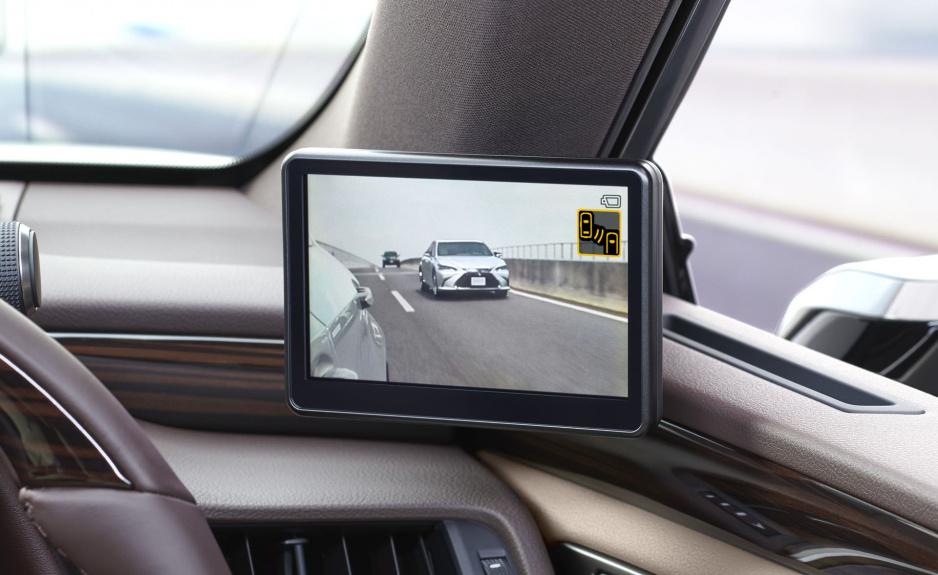 Lexus ES kamera namiesto zrkadla