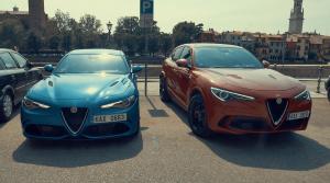Test Alfa Romeo Stelvio QV vs Giulia QV: Autá s veľkým srdcom