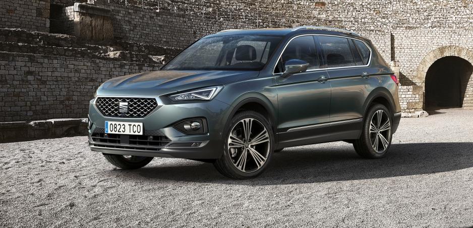 Nové sedemmiestne SUV Seat Tarraco odhalené. Je dlhšie ako Kodiaq