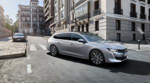 Peugeot ukázal kombi 508 SW vo verzii First Edition