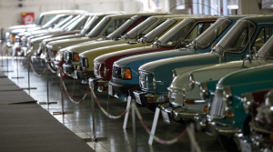 Pozrite si galériu veteránov na autosalóne v Nitre