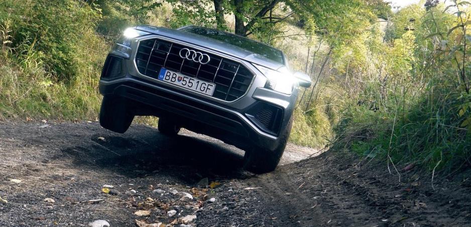 TEST: Audi Q8 50 TDI V6 neprovokuje šoféra k dynamickej jazde