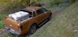 Test: Ford Ranger s tonou na chrbte je ako ryba vo vode