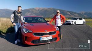 Test: Matej Tóth nám ukázal svoje jazdecké umenie za volantom Kie Stinger