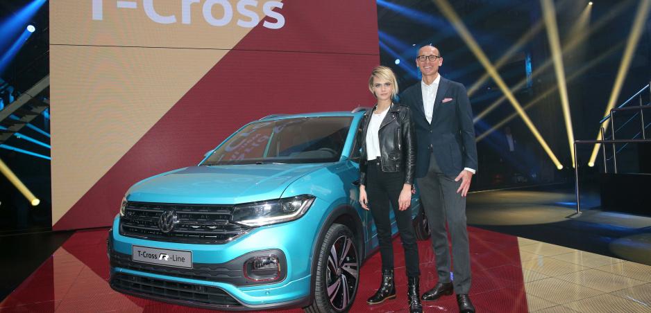 Volkswagen predstavil nový T-Cross. Pôjde o najmenšie SUV značky