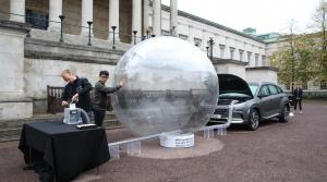 Vodíkové autá čistia vzduch. Hyundai Nexo to predviedol v uliciach Londýna