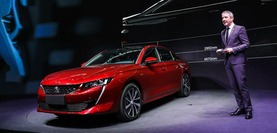 Peugeot prichádza do Číny s predĺženou verziou modelu 508L