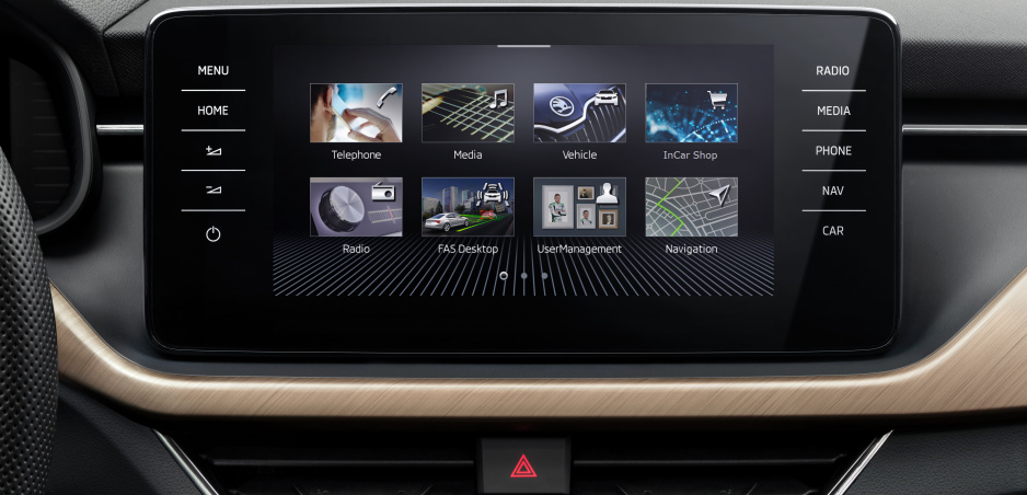 Škoda ukázala interiér nového modelu Scala