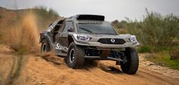 SsangYong Rexton DKR pôjde Dakar s pohonom zadnej nápravy
