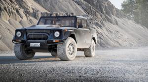 Urus nie je prvé SUV od Lamborghini. Tento kolos mal nádrž až 290 litrov