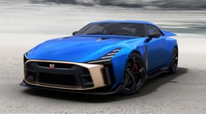 Špeciálny Nissan GT-R50 z dielne Italdesign dostal cenovku a poriadne prestrelenú