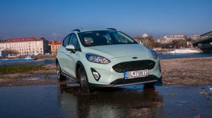 Test Ford Fiesta Active: Mestské auto v odolnom šate