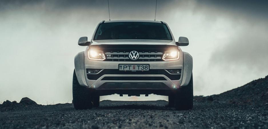 Volkswagen upravil Amarok na expedičné vozidlo do arktických mrazov