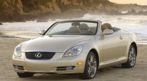 Sprievodca históriou kabrioletov značky Lexus