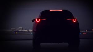 Mazda v Ženeve predstaví nové SUV, zatiaľ odhalila skicu