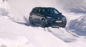 Test: Ostrú Atecu Cupra sme poriadne prevetrali na snehu
