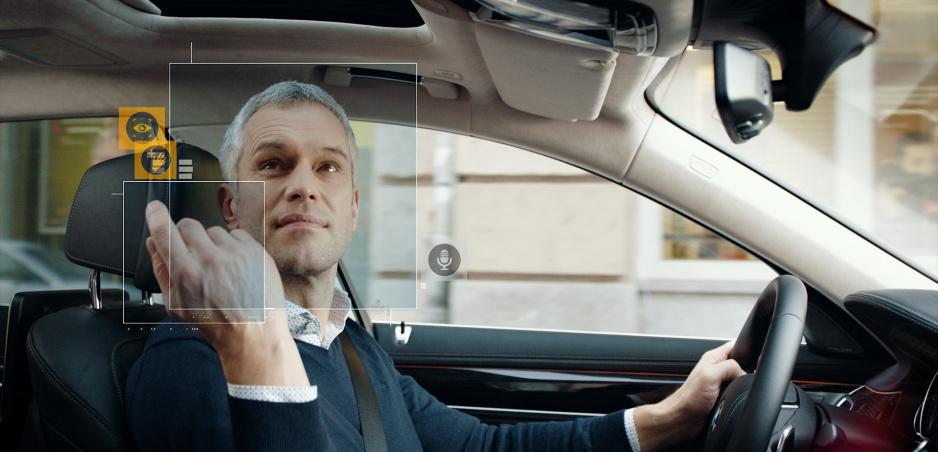 Viacdruhový komunikačný systém BMW rozpozná váš pohľad