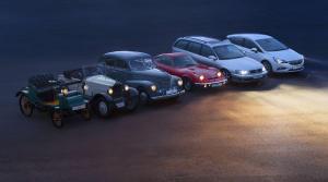 Prečítajte si o histórii svetiel Opel. Od sviečok až po úsporné Eco-LED svetlá