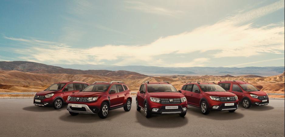 Dacia sa v Ženeve zahalí do červenej