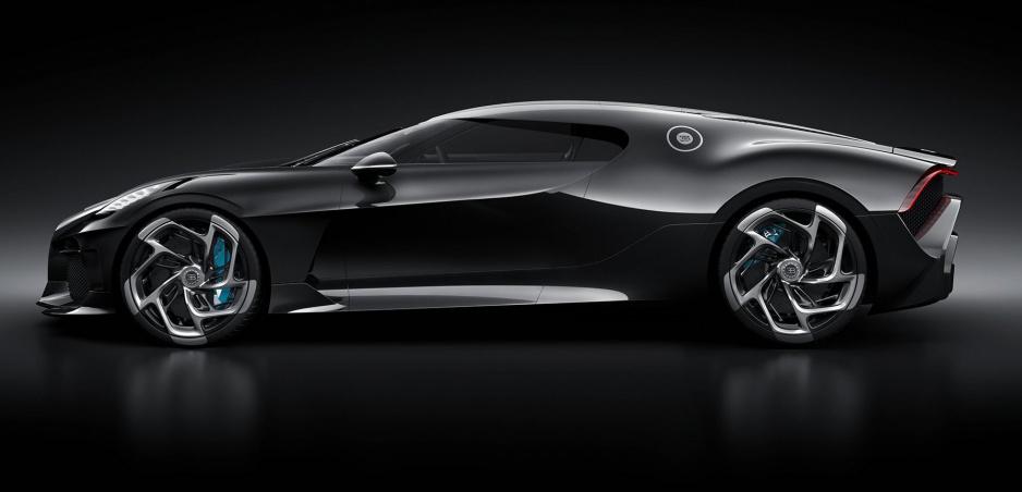 Bugatti La Voiture Noire: Jediný kus prišiel do Ženevy