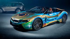 BMW i8 Roadster 4 elements: Umelecké dielo z Česka