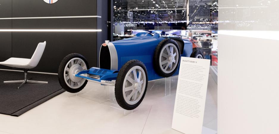 Baby Bugatti je hračkou aj pre dospelých a vôbec nie lacnou