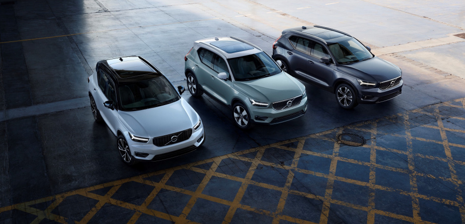 Volvo  XC40 ako elektromobil do konca roka