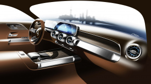 Mercedes ukázal interiér modelu GLB, ktorý doplní ponuku SUV značky