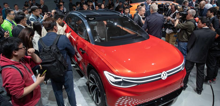 ID. Roomzz je koncept elektrického SUV s variabilným interiérom