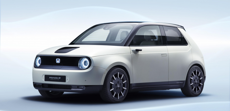 Nový japonský elektromobil dostal meno Honda e
