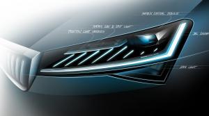 Škoda vo videu odhaľuje nové inteligentné svetlá modernizovaného Superbu