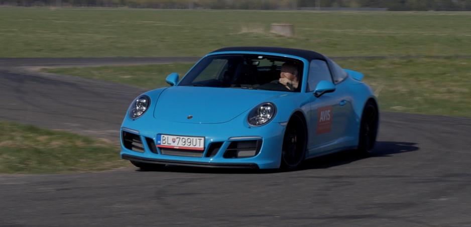 Test: Porsche 911 Targa 4 GTS dostalo zabrať na našej rýchlostnej skúške