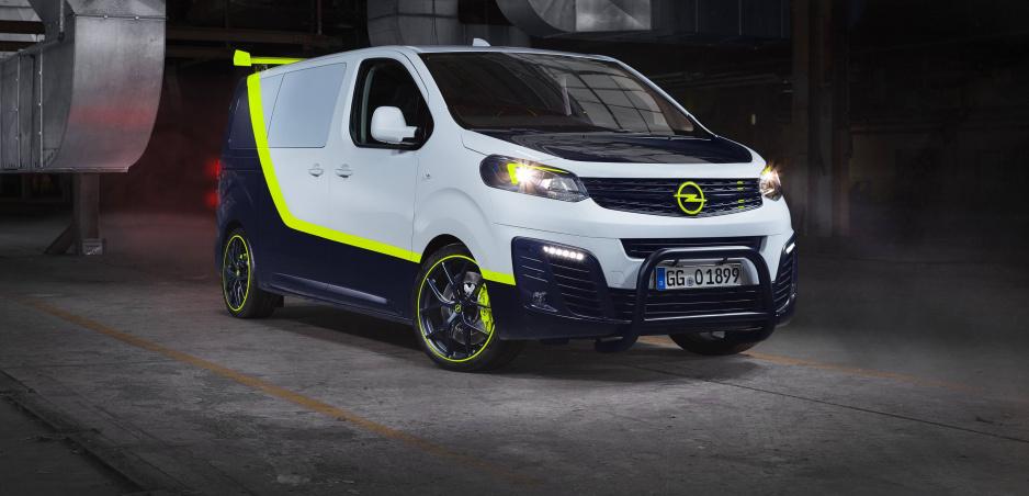 Opel Zafira O-Team - pes ktorý šteká nehryzie