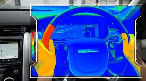 """Jaguar Land Rover: """"Zmyslový volant"""" poslúži ako navigácia"""
