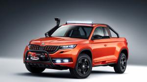 Českí študenti postavili vlastné auto - pickup Škoda Mountiaq