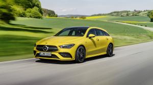 Mercedes AMG CLA 35 Shooting Brake rozširuje ponuku výkonných modelov