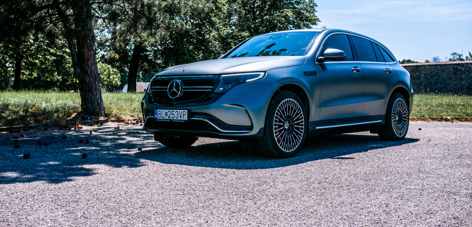 Mercedes-Benz EQC prvé dojmy: Tichý a nekompromisný