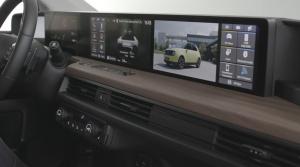 Honda e dostane päť obrazoviek a digitálny kľúč