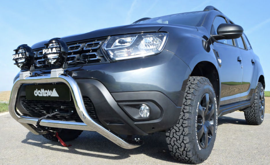 Dacia Duster upravena
