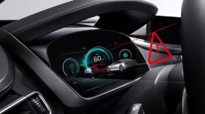Tachometer vystupujúci do priestoru: 3D prístrojovú dosku predstaví Bosch