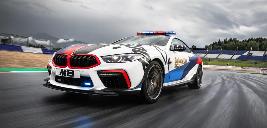 Upravené BMW M8 je novým safety car pre MotoGP