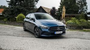 Test Mercedes triedy B 180 d: Praktické auto s nízkou spotrebou